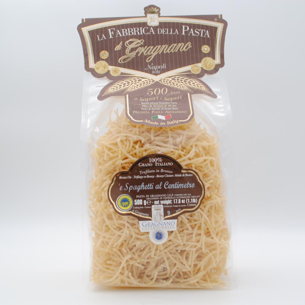 Spaghetti zentimeterweise