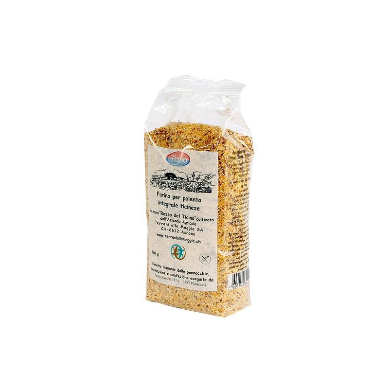 Farina da polenta rossa 500 g