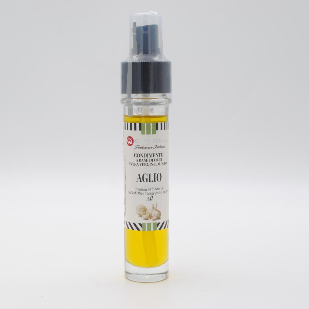 Elisir Spray condimento olio extra vergine di oliva all'aglio 30ML