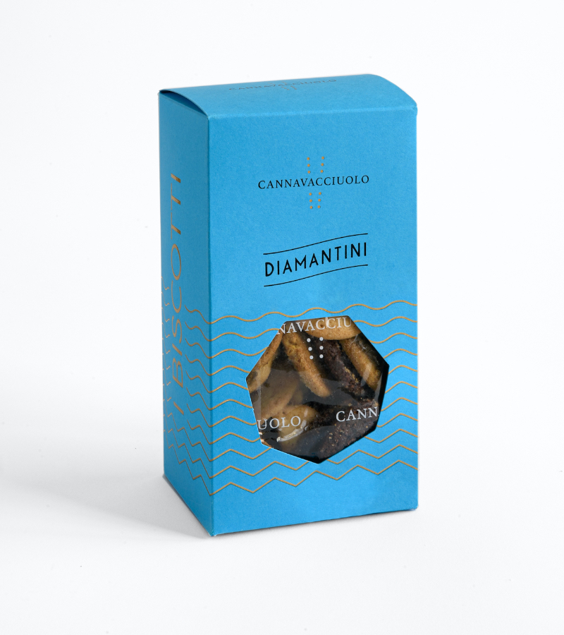Biscotti diamanti misti Cannavacciuolo 250g