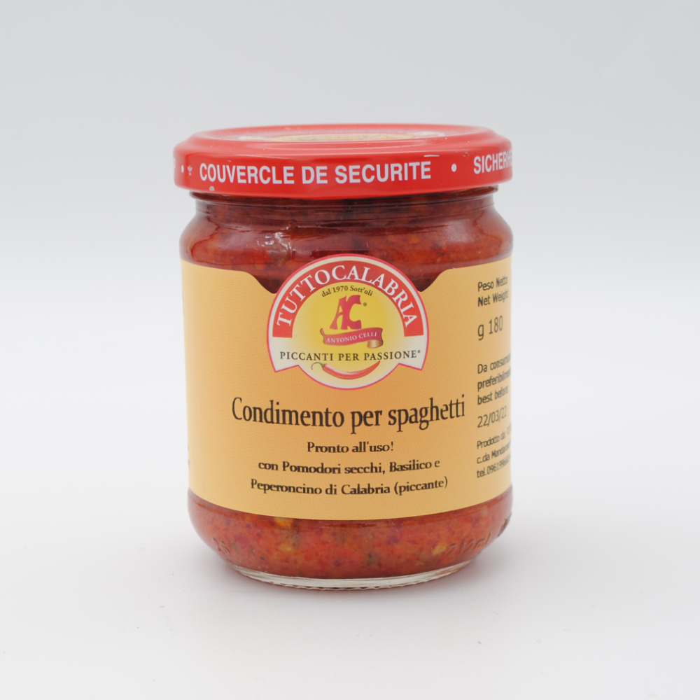 Condimento Spaghetti 180g
