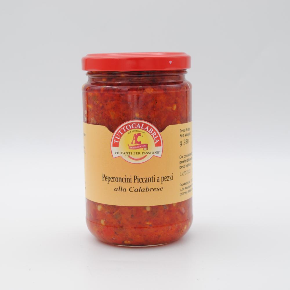 Peperoncini piccanti a pezzi 280g