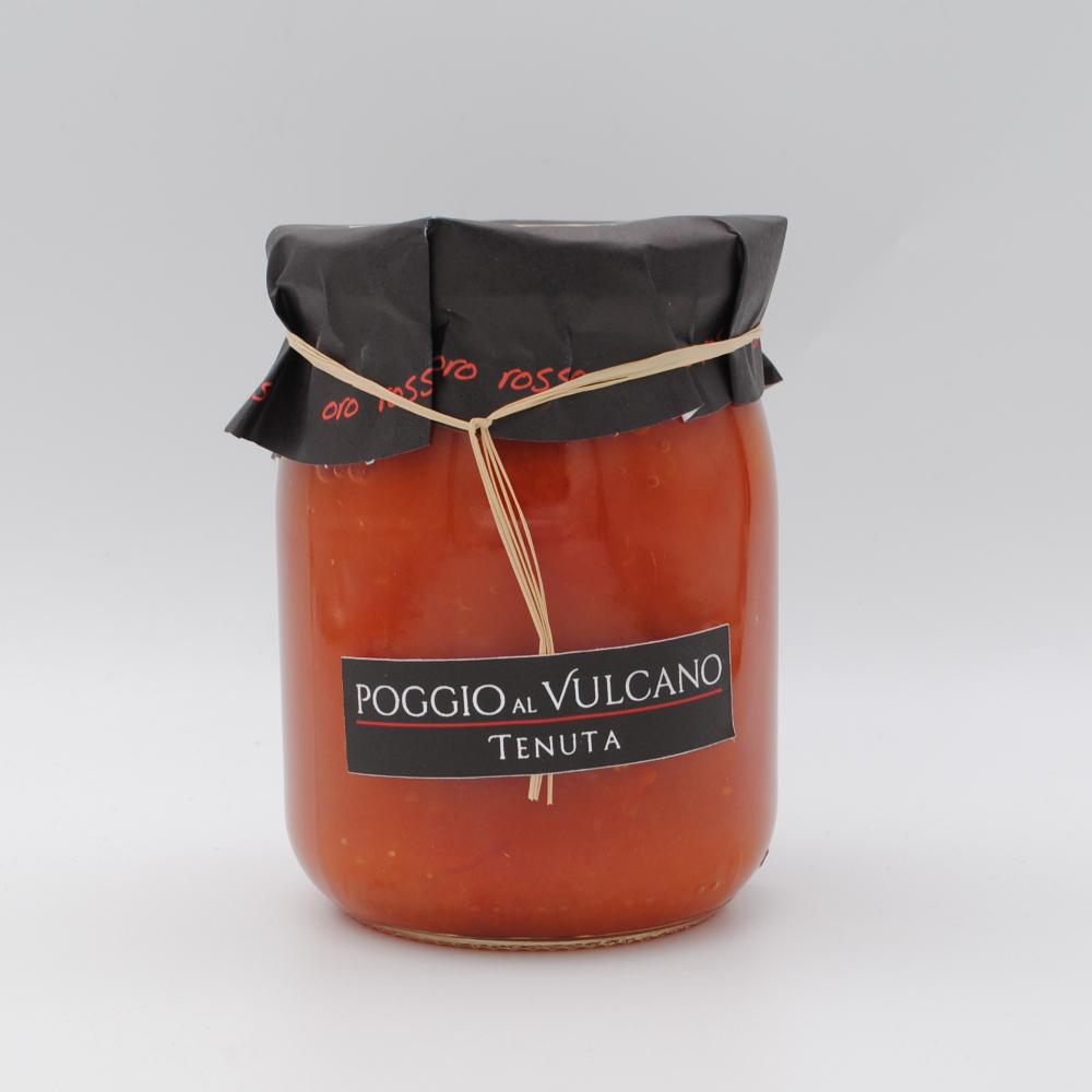 Pomodorini col Pizzo in sugo 580g