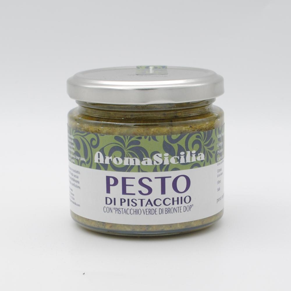 Pesto di pistacchio verde di bronte 190g
