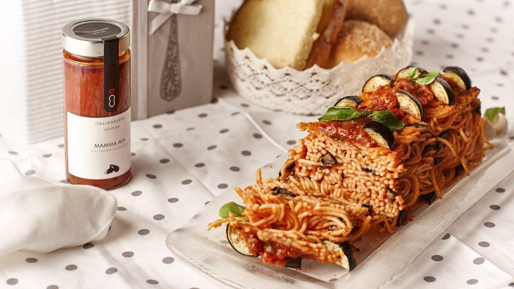 Plumcake di spaghetti